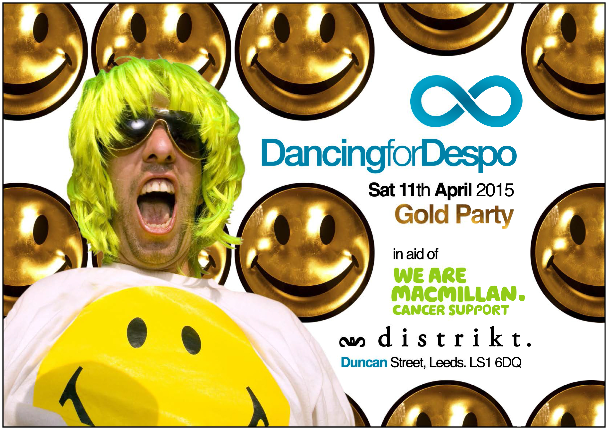 Dancing for Despo Gold Party (2015)