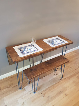 Dropleaf Dining Table and Bench