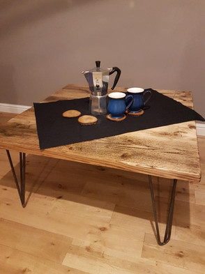 NEW! Large Square Coffee Table