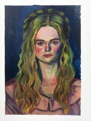 Portrait of Aurora, 2020