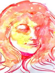 Pastel Portrait, 2020