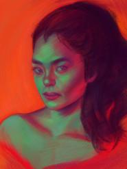 zombie girl, 2018