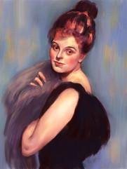 J.S. Sargent portrait study, 2018