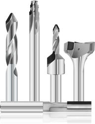 PCD Tipped Solid Carbide Tools