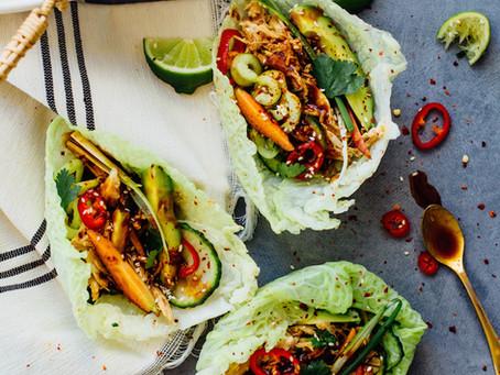 Tacos en feuille de chou