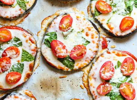 Pizzetta d'aubergine