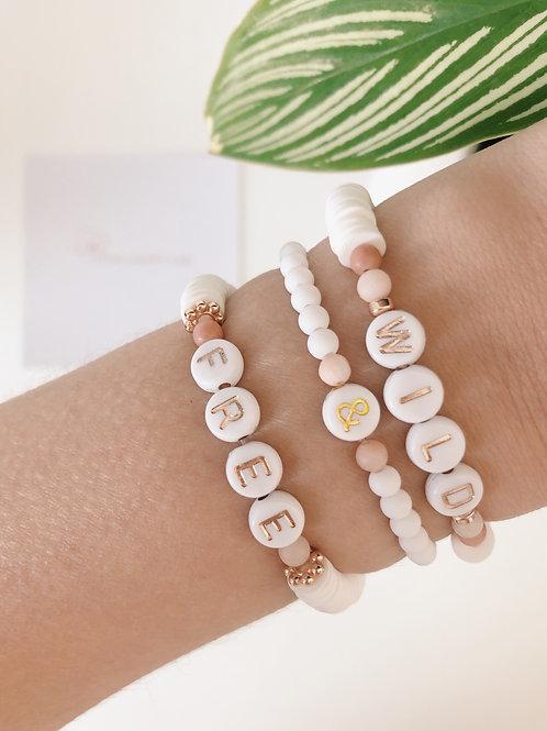 Wild - Set de 3 bracelets