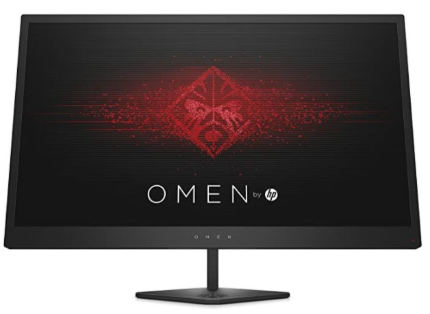 Omen by HP 25-Inch FHD Gaming Monitor with Tilt Adjustment and AMD Freesync Technology