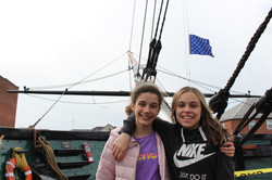 USS Amanda and her friend see melissa