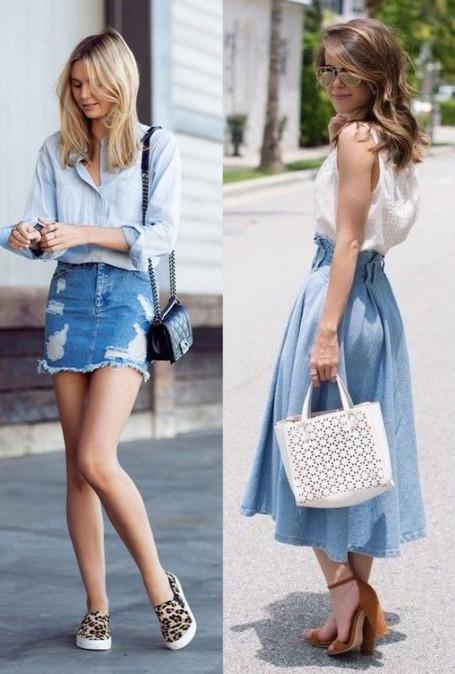 The PerfectDenim Skirt....