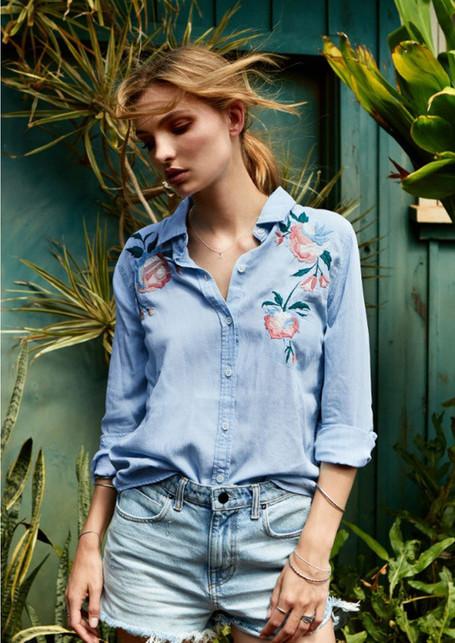 Posies & Petals...A Floral Shirt Story