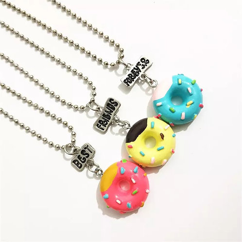 Mini Me - Donut Triple Necklace
