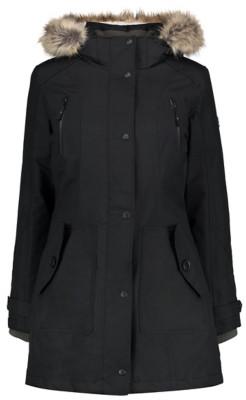 George Ozark Trail Waterproof Wind Resistant Faux Fur Trim Coat £48