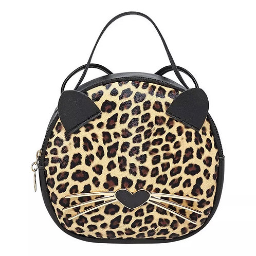 Mini Me - Leopard Cat Bag
