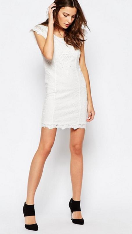 Little White Dress Illusions..