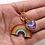 Thumbnail: Rainbow Enamel Necklace