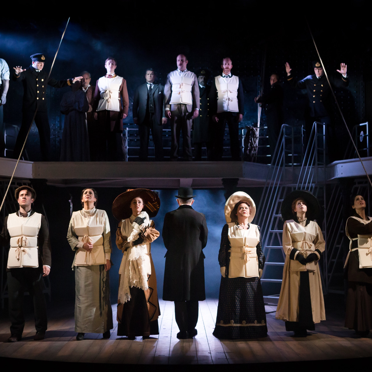 Charing Cross Theatre Cast - Photo by Scott Rylander (3)