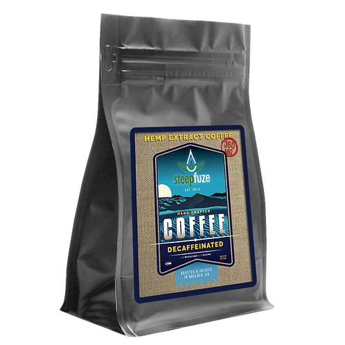 Decaffeinated CBD Coffee – 12 oz – 360 mg