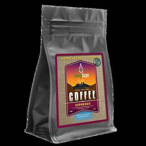 Espresso CBD Coffee – 12 oz – 120 mg