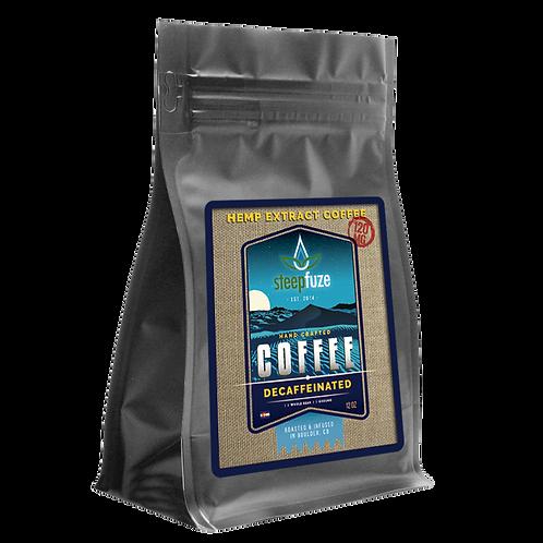 Decaffeinated CBD Coffee – 12 oz – 120 mg