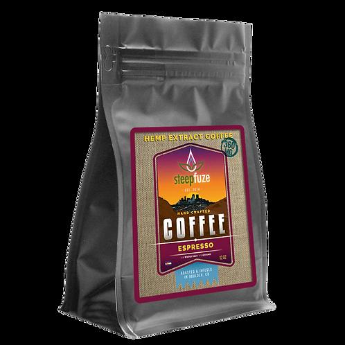 Espresso CBD Coffee – 12 oz – 360 mg