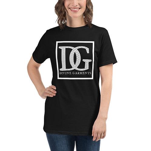 Divine Garments Black Unisex Organic T-Shirt