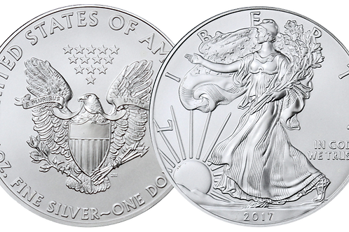 1 Ounce American Silver Eagle
