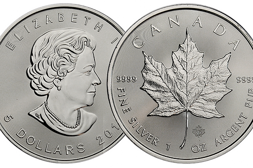 1 Ounce Canada Silver Maple Leaf