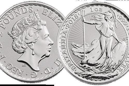 1 Ounce Great Britain Silver Britannia