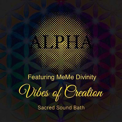 Vibes of Creation Crystal singing bowl musi