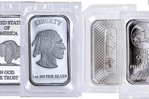 1 Ounce Silver Bar