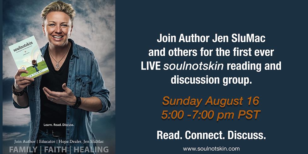 Read   Connect   Discuss with Jen SluMac