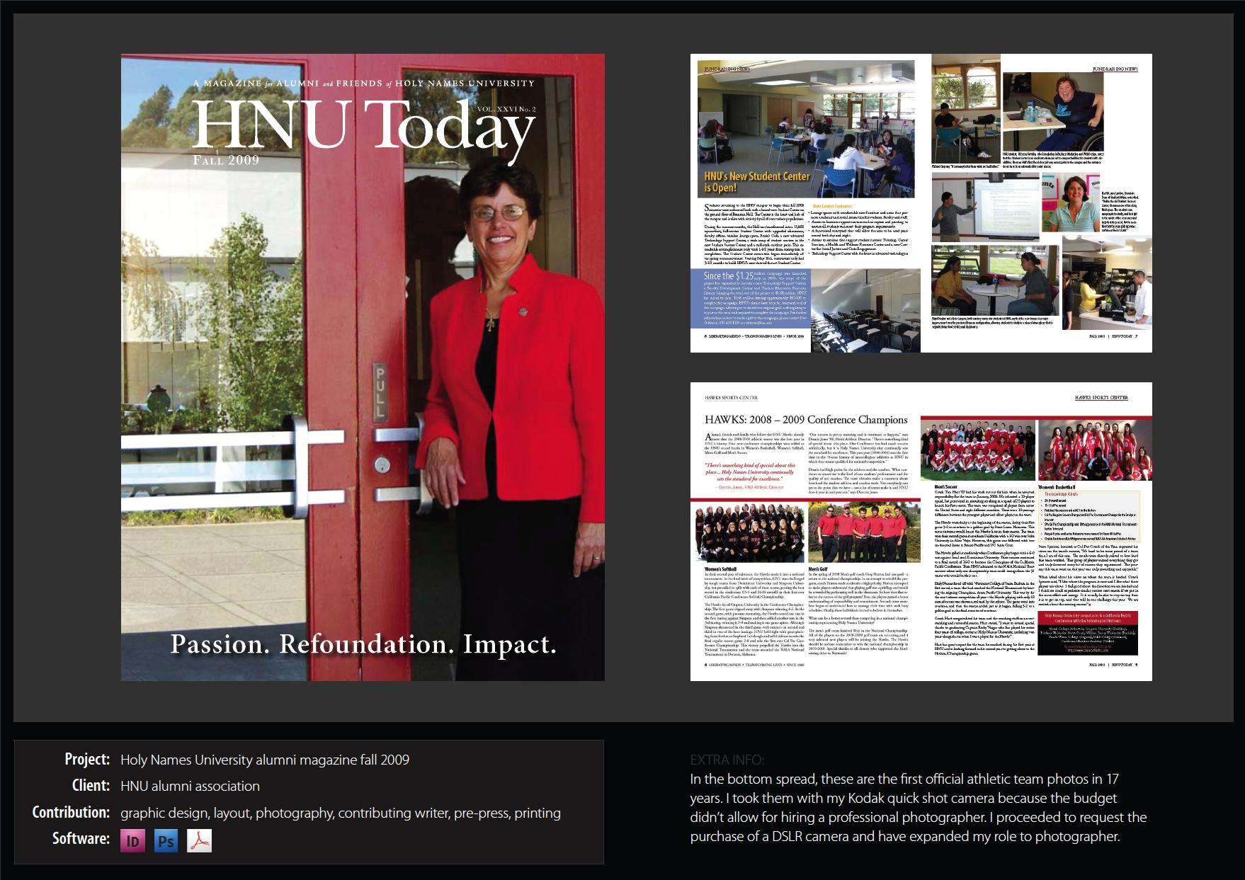 Alumni Magazine - HNU