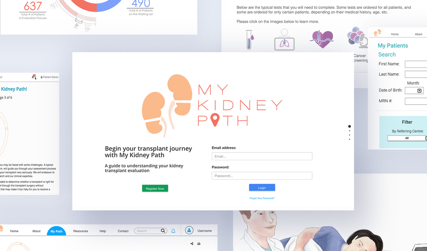 Website_portfolio_MyKidneyPath_screensho