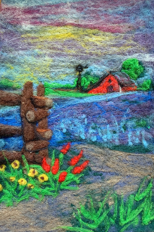 Spring in the Country Online Needle FeltingWorkshop