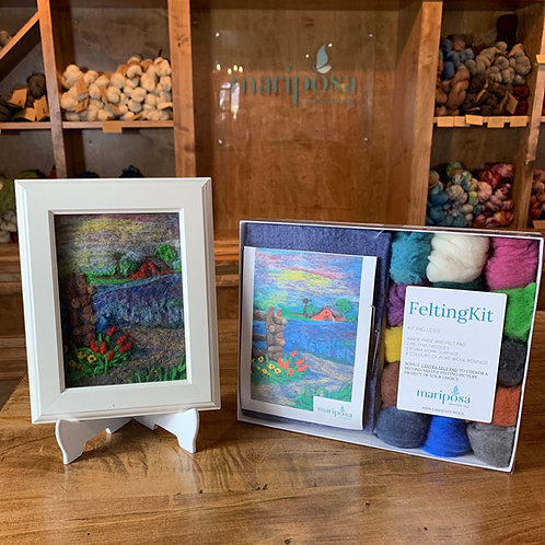 Spring in the Country Needle Felting Kit