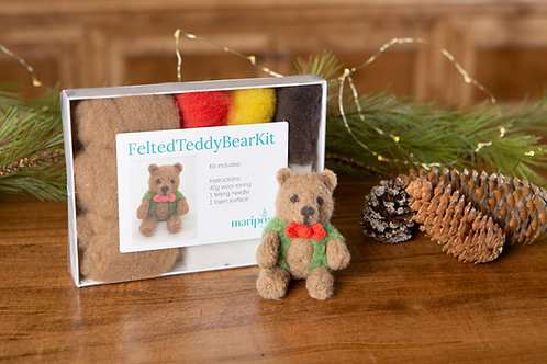 Felted Teddy Bear Kit