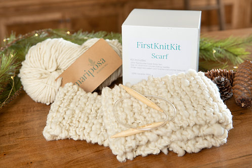 First Knit Kit - Scarf