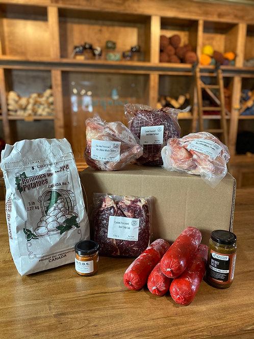 Medium Market Meat Box
