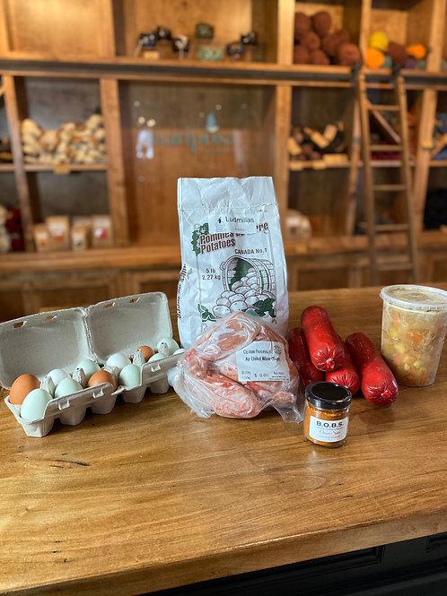 Small Market Meat Box