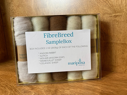 Fibre Breed Sample Boxes