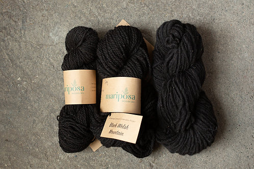 Black Welsh Mountain Yarn