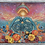 "Thumbnail: Sisters' Celestial - 16"" x 20"" Medium Acrylic Painting"