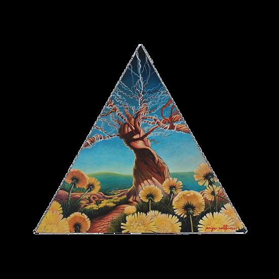 "Source of Life - 17"" x 19 1/2"" Medium Acrylic Painting"