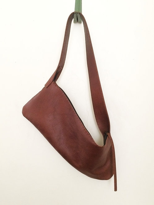 Leather Shoulder<CROV> light brown(明茶)