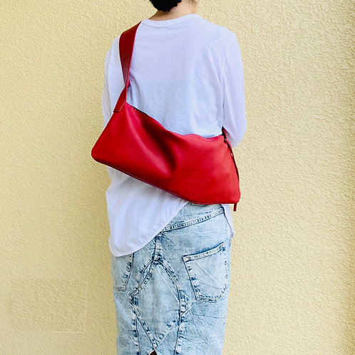 Leather Shoulder <CROV>Red(赤)