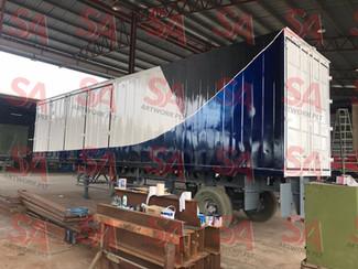 E2S 40ft trailer box 2units
