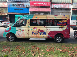 Van Wilayah (Full Wapping)