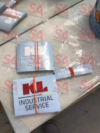 KL Industrial Service (Die-cut Sticker)