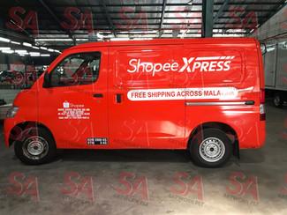 Shopee Xpress No.40th-50th units